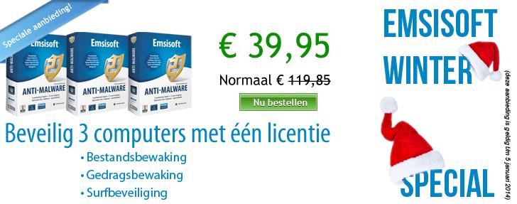 Emsisoft Winter Bonus