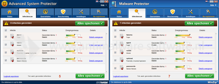 Winzip Malware Protector & Advanced System Protector