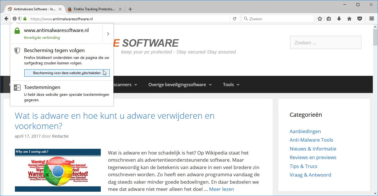 Adblocker Firefox
