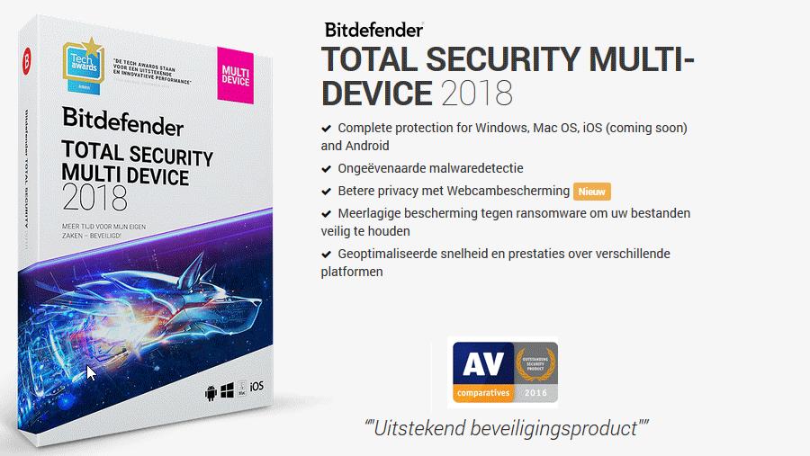 bitdefender total security 2018 multi device review. Black Bedroom Furniture Sets. Home Design Ideas