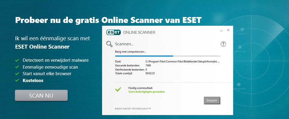 ESET Online Scanner