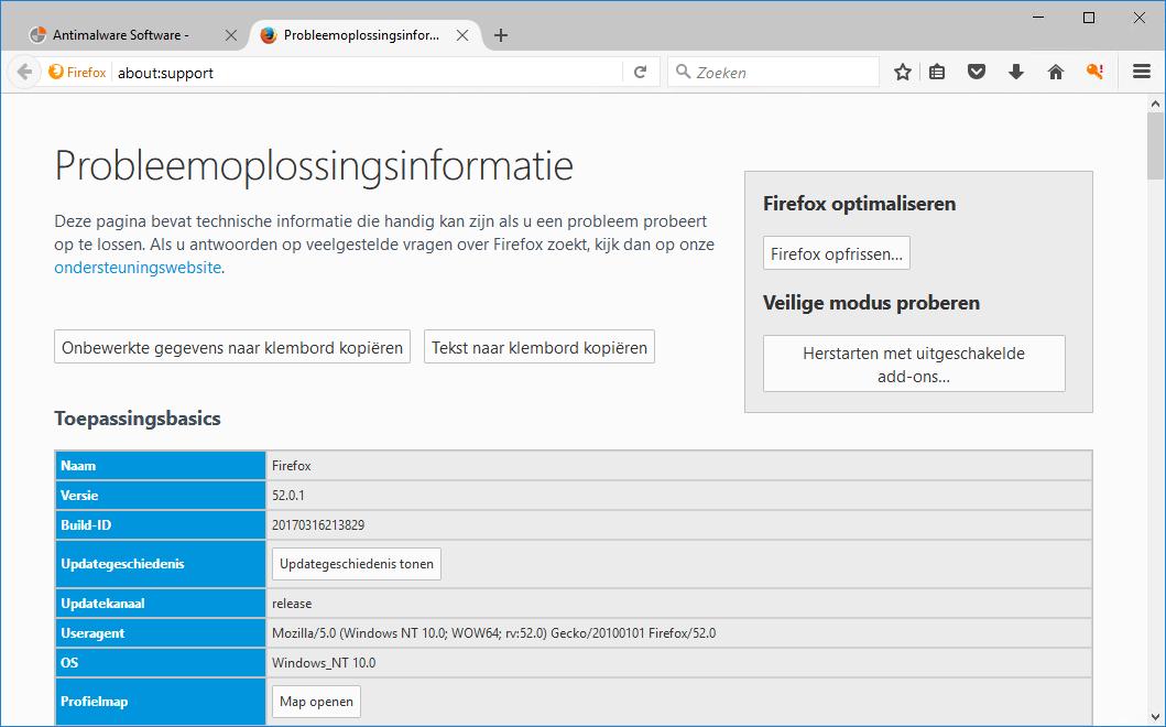 Firefox Herstellen