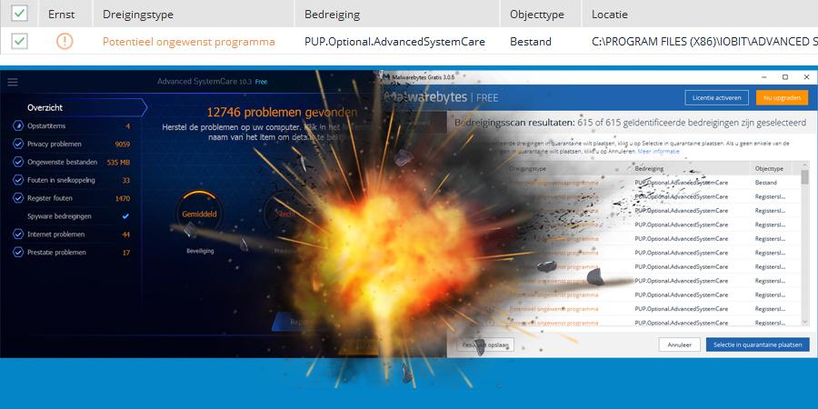 IObit in gevecht met Malwarebytes