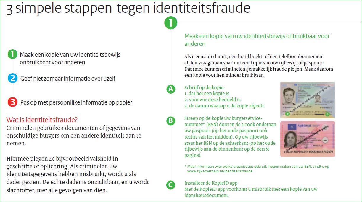 Identiteitsfraude voorkomen