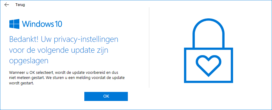 Privacyinstellingen in Windows 10