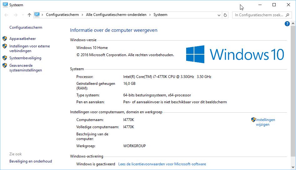 Windows 10 64 bits